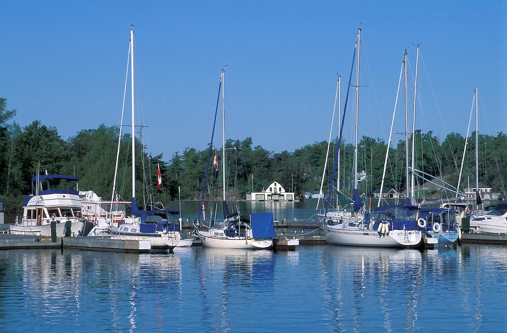 Harbor, Ganaoque,1000 Islands Region,  Ontario, Canada