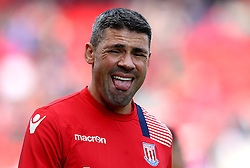 Jonathan Walters of Stoke City sticks out his tongue - Mandatory by-line: Robbie Stephenson/JMP - 15/10/2016 - FOOTBALL - Bet365 Stadium - Stoke-on-Trent, England - Stoke City v Sunderland - Premier League