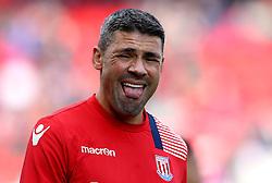 Jonathan Walters of Stoke City sticks out his tongue - Mandatory by-line: Robbie Stephenson/JMP - 15/10/2016 - FOOTBALL - Bet365 Stadium - Stoke-on-Trent, England - Stoke City v Sunderland - Premier League