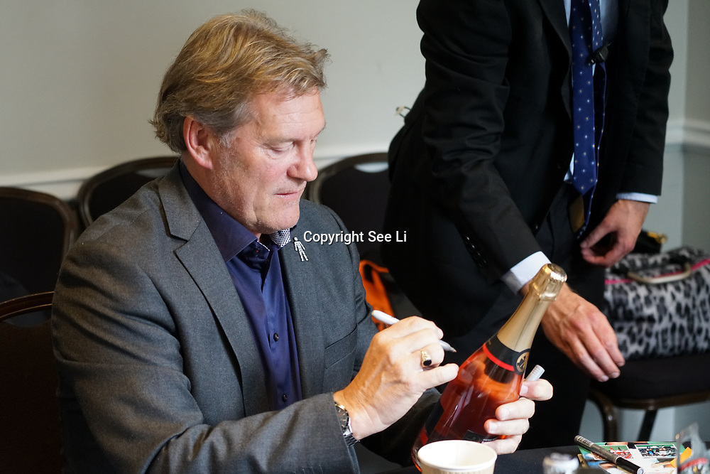 The Brewery,,London,England,UK.14th April 2017. Glenn Hoddle attend the Pride of St George at The Brewery. by See Li