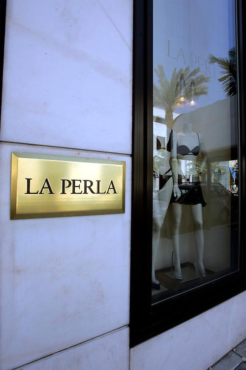 US-LOS ANGELES:  La Perla at Rodeo Drive Beverly Hills. PHOTO: GERRIT DE HEUS