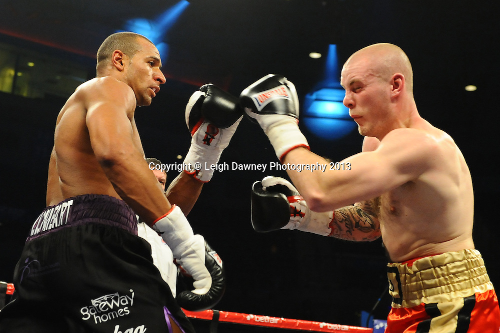 Bob Ajisafe defeats Carl Wild in a Light Heavyweight contest at the Echo Arena, Liverpool, London, UK on the 30th March 2013. Matchroom Sport © Leigh Dawney Photography 2013.