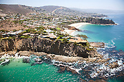 Cameo Cove, Abalone Point and Emerald Point of Laguna Beach California