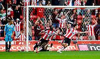 Photo: Alan Crowhurst.<br />Southampton v Sunderland. Coca Cola Championship. 09/04/2007. Southampton's Marek Saganowski (R) celebrates his goal 1-0.