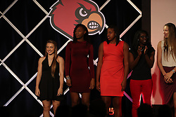 The University of Louisville Women's Basketball team hosted their tip off luncheon, Wednesday, Nov. 02, 2016 at Downtown Marriott in Louisville. <br /> <br /> Photo by Jonathan Palmer, Special to the CJ