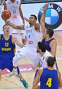 DESCRIZIONE : Capodistria Koper Nazionale Italia Uomini Adecco Cup Italia Italy Ucraina Ukraine<br /> GIOCATORE : Pietro Aradori<br /> CATEGORIA : tiro penetrazione<br /> SQUADRA : Italia Italy<br /> EVENTO : Adecco Cup<br /> GARA : Italia Italy Ucraina Ukraine<br /> DATA : 22/08/2015<br /> SPORT : Pallacanestro<br /> AUTORE : Agenzia Ciamillo-Castoria/A.Scaroni<br /> Galleria : FIP Nazionali 2015<br /> Fotonotizia : Capodistria Koper Nazionale Italia Uomini Adecco Cup Italia Italy Ucraina Ukraine