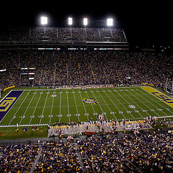 November 12, 2011; Baton Rouge, LA, USA;  A general view during the first quarter of a game between the LSU Tigers and the Western Kentucky Hilltoppers at Tiger Stadium.  Mandatory Credit: Derick E. Hingle-US PRESSWIRE