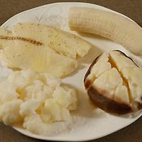 Thomas Wells   BUY AT PHOTOS.DJOURNAL.COM<br /> Cauler Flower, fish, banana and baked potato