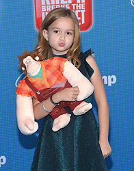 November 5, 2018 - Hollywood, California, U.S. - Chloe Clem arrives for the 'Ralph Breaks the Internet' World Premiere at the El Capitan theater. (Credit Image: © Lisa O'Connor/ZUMA Wire)