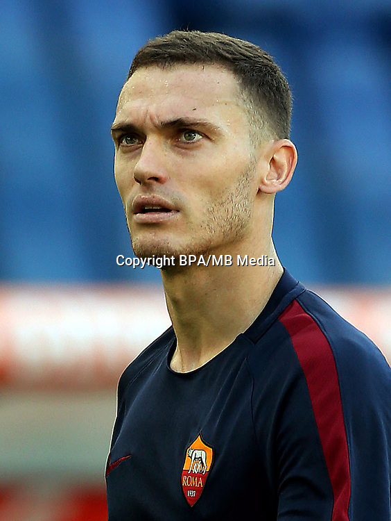 Italian League Serie A -2016-2017 / <br /> ( AS Roma ) - <br /> Thomas Vermaelen