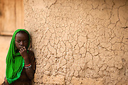 Girl in the village of Banankoro, Mali on Saturday August 28, 2010.