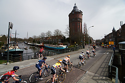 Boels Dolmans set the pace of the peloton at Healthy Ageing Tour 2018 - Stage 5, a 94.3 km road race in Groningen on April 8, 2018. Photo by Sean Robinson/Velofocus.com