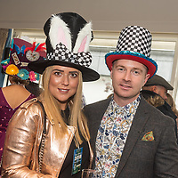 REPRO FREE<br /> Stephanie Smyth and Mark Quinn from Athlone pictured at the 42nd Kinsale Gourmet Festival Mad Hatters Taste of Kinsale.<br /> Picture. John Allen