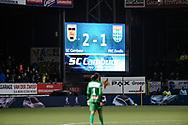 Voetbal Leeuwarden Eredivisie 2014-2015 SC Cambuur - PEC Zwolle: L-R