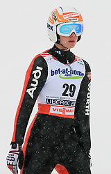 Magdalena Schnurr of Germany at Ski Jumping ladies Normal Hill Individual of FIS Nordic World Ski Championships Liberec 2008, on February 20, 2009, in Jested, Liberec, Czech Republic. (Photo by Vid Ponikvar / Sportida)