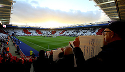 The King Power Stadium pays respect to Remembrance Day ahead of Leicester City v Everton - Mandatory by-line: Robbie Stephenson/JMP - 29/10/2017 - FOOTBALL - King Power Stadium - Leicester, England - Leicester City v Everton - Premier League