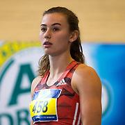 NLD/Apeldoorn/20180217 - NK Indoor Athletiek 2018, 60 meter dames, Nadine Visser