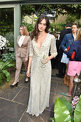 Ellen Francis Gibbons at The Ivy Chelsea Garden Summer Party, Kings Road, London, England. 14 May 2018.