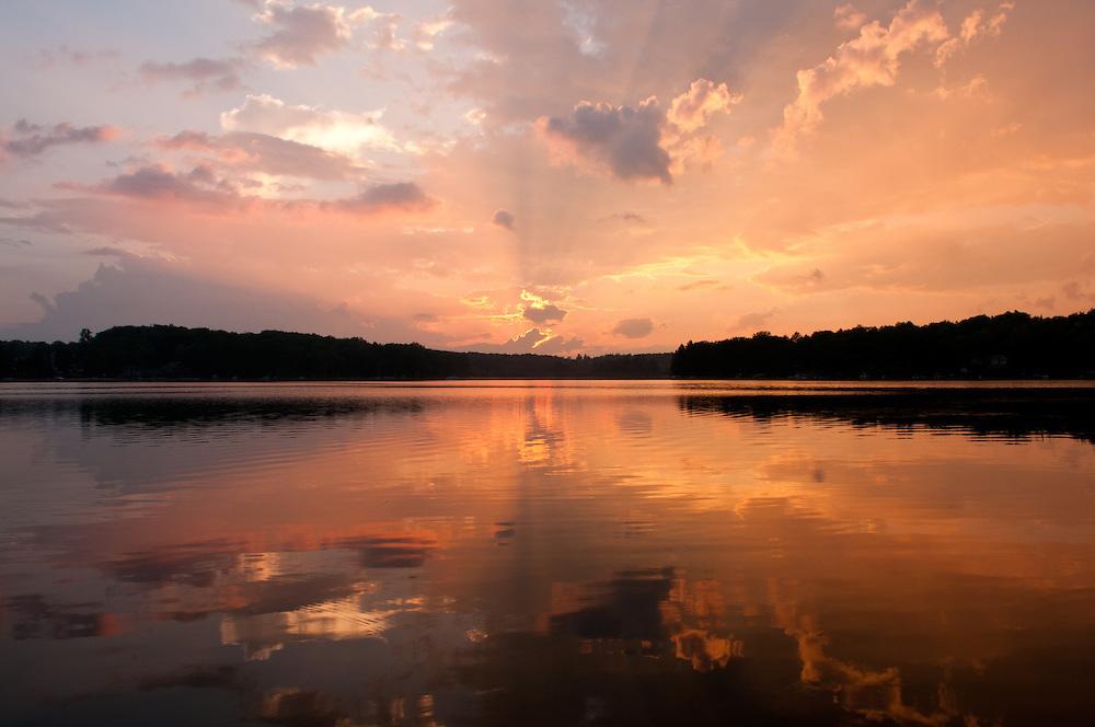 Vaughn Lake.  <br /> Alcona County, Michigan