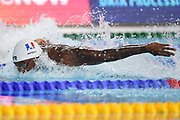 Mehdy Metella (FRA) competes on Men's 50 m Butterfly during the Swimming European Championships Glasgow 2018, at Tollcross International Swimming Centre, in Glasgow, Great Britain, Day 5, on August 6, 2018 - Photo Stephane Kempinaire / KMSP / ProSportsImages / DPPI