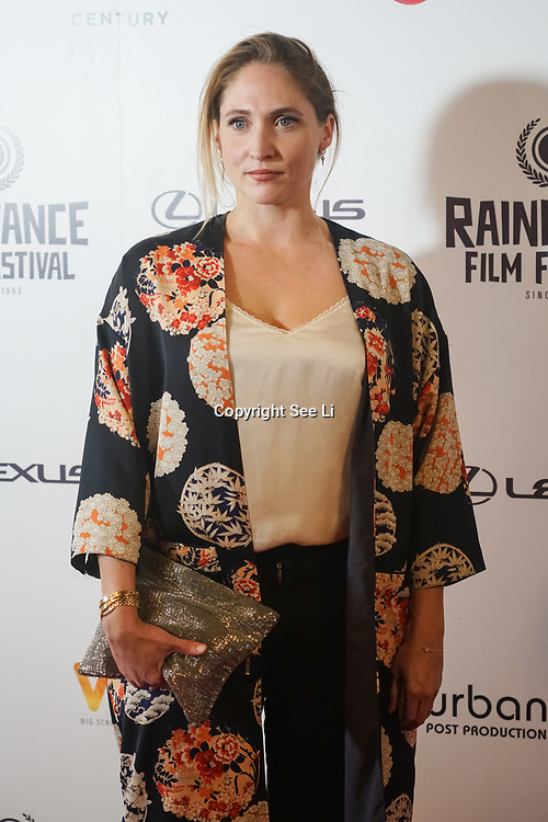 London, UK, 20th September 2017. Jessica Parker attend Raindance 25th Film Festival Opening Gala at VUE Leicester Square.