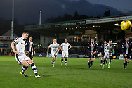 Dundee&rsquo;s Darren O&rsquo;Dea scores his side's goal from the penalty spot - Ross County v Dundee in the Ladbrokes Scottish Premiership at The Global Energy Stadium, Dingwall, Photo: David Young<br /> <br />  - &copy; David Young - www.davidyoungphoto.co.uk - email: davidyoungphoto@gmail.com