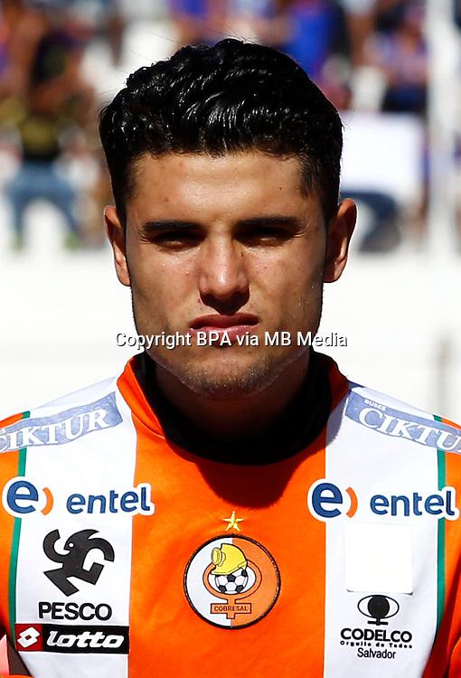 Chile Football League First Division - <br /> Scotiabank Tournament 2016 - <br /> ( Club de Deportes Cobresal ) - <br /> Rodrigo Andres Urena Reyes