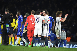09.03.2016, Stamford Bridge, London, ENG, UEFA CL, FC Chelsea vs Paris Saint Germain, Achtelfinale, Rueckspiel, im Bild cavani edinson, rabiot adrien // during the UEFA Champions League Round of 16, 2nd Leg match between FC Chelsea vs Paris Saint Germain at the Stamford Bridge in London, Great Britain on 2016/03/09. EXPA Pictures © 2016, PhotoCredit: EXPA/ Pressesports/ LAHALLE PIERRE<br /> <br /> *****ATTENTION - for AUT, SLO, CRO, SRB, BIH, MAZ, POL only*****