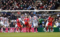 Photo: Mark Stephenson/Richard Lane Photography. <br /> West Bromwich Albion v Colchester United. Coca-Cola Championship. 29/03/2008. <br /> Colchester's Chris Coyne ( C) scores from a over head kick for 1-0
