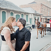 Priyesh & Jennifer - New Orleans Wedding Engagement Photo Session - French Quarter Jackson Square 2013 | 1216 STUDIO wedding photographers