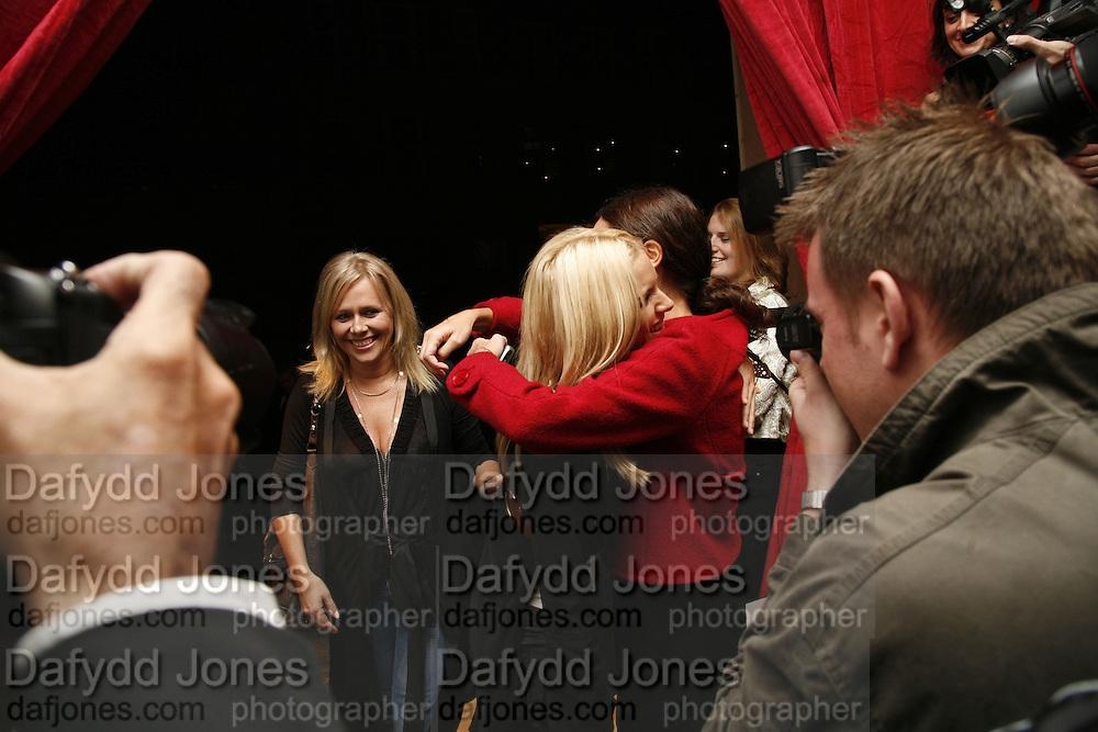 Kiera Parks and Sienna MIller, Pepe Jeans, Sienna Miller  new ambassador party. 17 Berkeley Street, London, W1.  4 October 2006. -DO NOT ARCHIVE-© Copyright Photograph by Dafydd Jones 66 Stockwell Park Rd. London SW9 0DA Tel 020 7733 0108 www.dafjones.com