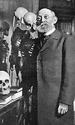 Rudolph Virchow (1829-1902) German pathologist (cellular pathology). Liberal member of Reichstag and opponent of Bismarck. Picture published at time of his death.