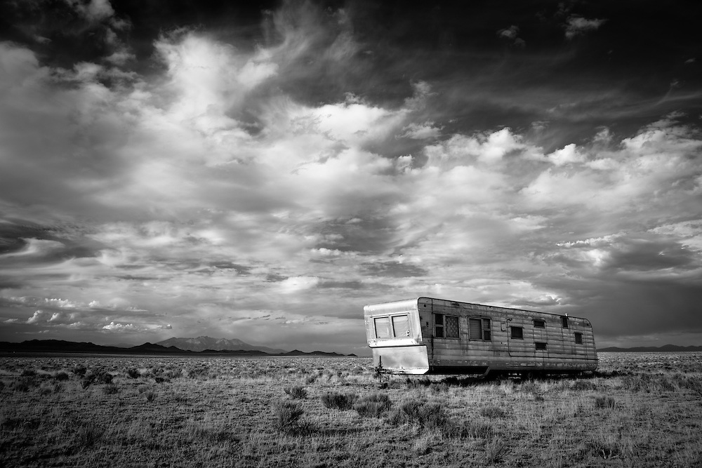 Abandoned in the San Luis Valley of Colorado.
