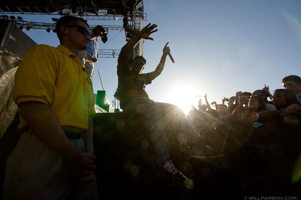 The Living Legends performs during the Sungod Festival at UC San Diego in San Diego, California on May 16, 2008.