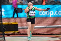 15/07/2017 : Niamh McCarthy, F41, Discus (Women's), at the 2017 World Para Athletics Championships, Olympic Stadium, London, United Kingdom