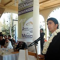 Villa Victoria, Mex.- Ernesto Nemer Alvarez, secretario de Desarrollo Social, Carmen Peralta, vocal ejecutiva en la entidad de 100 por México y Americo Latorre Ozuna, dirigente Nacional de 100 por México, encabezan la 1a.<br /> <br /> Reunion del Consejo Ciudadano, donde se trataran temas de seguridad, economia y salud en las 11 diferentes zonas donde existen miembros en el pais. Agencia MVT / Luis Enrique Hernandez V. (DIGITAL)<br /> <br /> <br /> <br /> NO ARCHIVAR - NO ARCHIVE