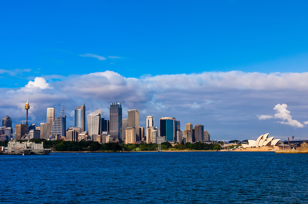 Skyline featuring the Central Business District, Sydney, New South Wales, Australia
