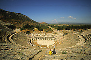 Turkey. Ephese, theater,/  Ephese, theatre antique,  Turquie    Mediteranee