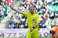 Mikael LESAGE - 08.03.2015 - Saint Etienne / Lorient - 28eme journee de Ligue 1<br /> Photo : Jean Paul Thomas / Icon Sport