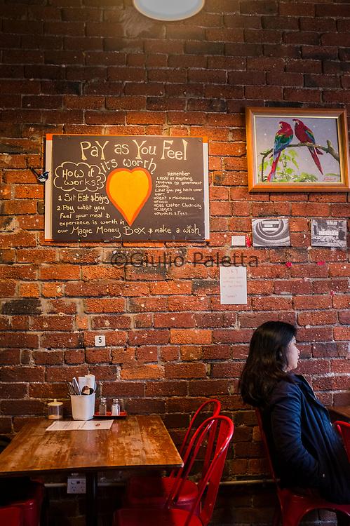 Lentil as Anything restaurant in St.Kilda