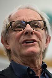 London, UK. 2nd March, 2019. Ken Loach, film director and political activist, addresses the ¡No Pasaran! Confronting the Rise of the Far-Right conference at Bloomsbury Central.