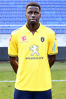 Lionel ZOUMA - 04.10.2014 - Photo officielle Sochaux - Ligue 2 2014/2015<br /> Photo : Icon Sport