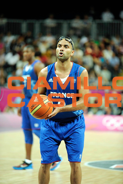 TDESCRIZIONE : France Basket Jeux Olympiques Londres <br /> GIOCATORE : PARKER TONY FRA<br /> SQUADRA : France Homme<br /> EVENTO : FRANCE basket Jeux Olympiques<br /> GARA : FRANCE USA<br /> DATA : 29 07 2012<br /> CATEGORIA : Basketball Jeux Olympiques<br /> SPORT : Basketball<br /> AUTORE : JF Molliere <br /> Galleria : France JEUX OLYMPIQUES 2012 Action<br /> Fotonotizia : France Basket Homme Jeux Olympiques Londres premier tour France Usa<br /> Predefinita :
