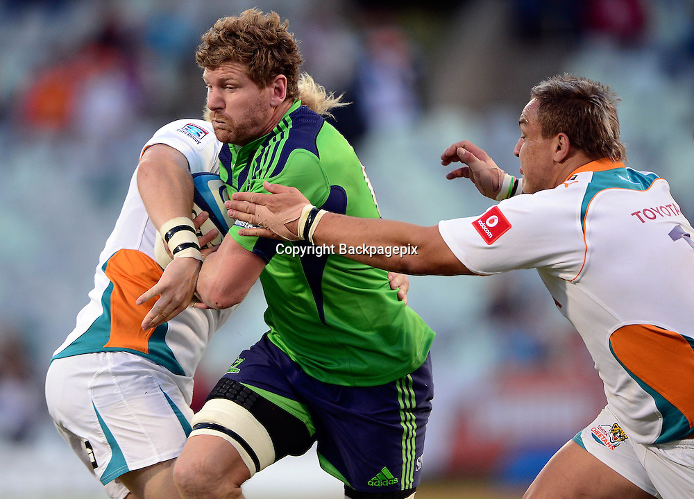 Adam Thomson from the Highlanders<br /> &copy; Gerhard Steenkamp/BackpagePix