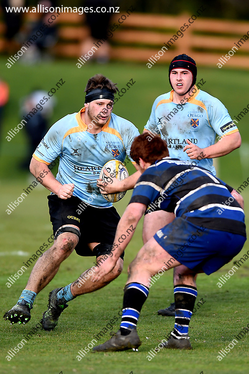 Ben Reidy. University Premier's vs Kaikorai Premier's, Dunedin Premier Rugby Semi Final, University Oval, Dunedin, New Zealand, 28 July 2018. Credit: Joe Allison / allisonimages.co.nz
