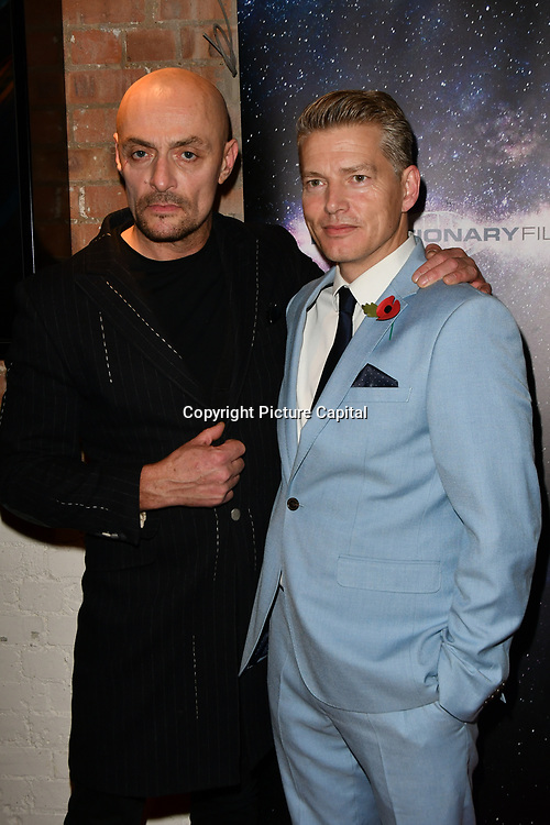 Sean Cronin and Richard Dee Roberts arrivers at Eleven Film Premiere at Picture House Central, Piccadilly Circus on 10 November 2018, London, Uk.