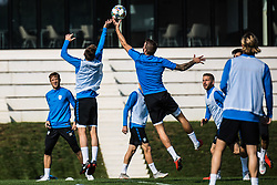 during practice session of Slovenian national football team, on October 10, 2018 in National Football Center Brdo, Kranj, Slovenia. Photo by Grega Valancic / Sportida