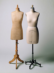antique sewing mannequins