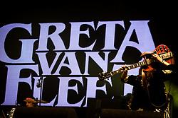 June 17, 2018 - Landgraaf, Limburg, Netherlands - Jake Kiszka of Greta Van Fleet performing live at Pinkpop Festival 2018 in Landgraaf, Netherlands,on 17 June 2018. (Credit Image: © Roberto Finizio/NurPhoto via ZUMA Press)