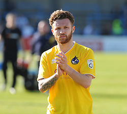 Bristol Rovers' Matty Taylor - Photo mandatory by-line: Neil Brookman/JMP - Mobile: 07966 386802 - 18/04/2015 - SPORT - Football - Dover - Crabble Athletic Ground - Dover Athletic v Bristol Rovers - Vanarama Football Conference